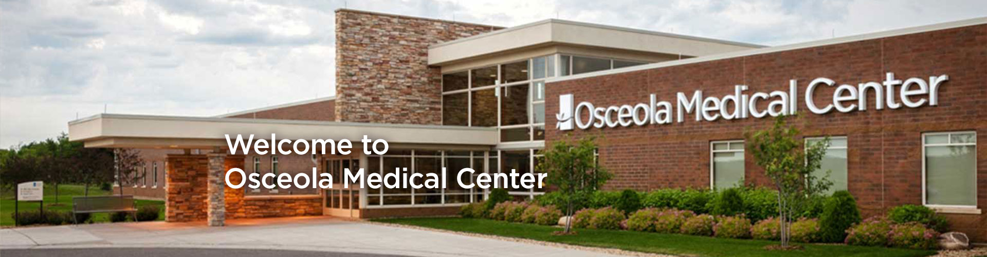 Welcome to Osceola Medical Center Banner